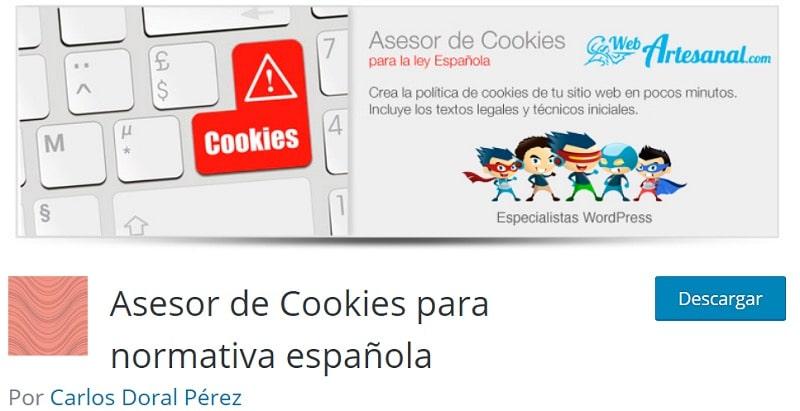 plugins Cookies WordPress